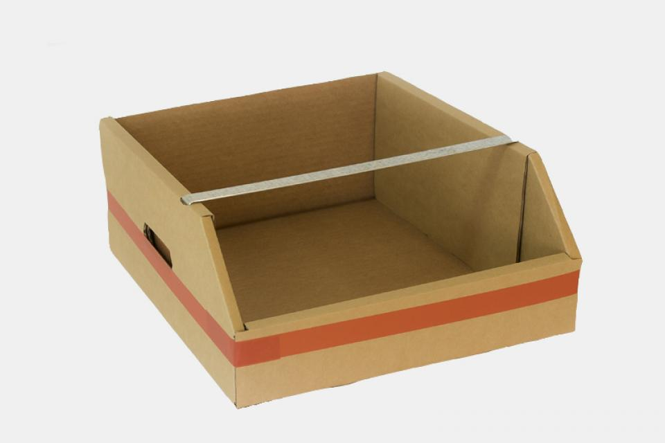 Gavetas Cajas de cartón apilables y resistentes